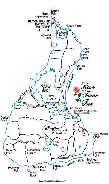 Rose Farm Inn Map